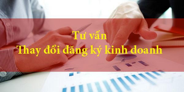 Bổ sung, thay đổi nghành nghề kinh doanh
