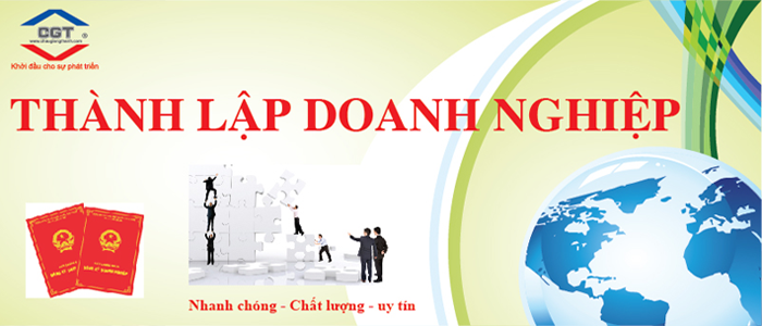 Thành lập công ty tại huyện Bình Chánh - TPHCM